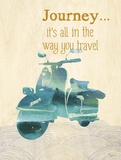 It's All In The Way You Travel Posters by Evangeline Taylor