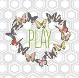 Butterfly Play Prints by Bella Dos Santos