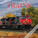 Canadian Trains - 2015 Mini Calendar Calendars