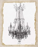 Paris Chandelier 1 Prints by Morgan Yamada