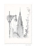 New York Avenue Pen & Ink Posters by  Art Atelier