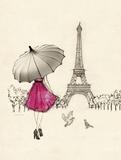 Sketching a Parisian Memory Posters by Morgan Yamada