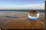 Am Strand von Sylt Reproduction transférée sur toile par Gerhard Rossmeissl