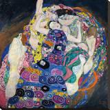 The Virgin Reproducción en lienzo de la lámina por Gustav Klimt