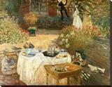 Le Déjeuner Leinwand von Claude Monet