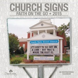 Church Signs - 2015 Calendar Calendars