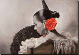 Abanico Reproduction sur toile tendue par Renato Casaro