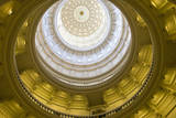 USA, Texas, Austin. The Capitol Building with the Goddess of Liberty. Photographic Print by Randa Bishop