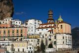 Italy, Amalfi Coastline, Atrani. The Church of Holy Maria Maddalena. Photographic Print by Terry Eggers
