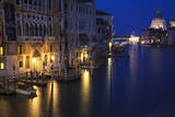 Italy, Venice, View of the Grand Canal and the action on the Canal. Photographic Print by Terry Eggers