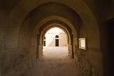 Qasr al Kharaneh or Qasr Kharana is a desert fort in Amra, Jordan. Photographic Print by Nico Tondini