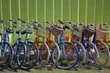 Canada, Nova Scotia, Halifax. Bicycles for rent along the waterfront. Photographic Print by Kymri Wilt