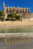 Cathedral of Santa Maria of Palma, Majorca, Balearic Islands, Spain. Photographic Print by Nico Tondini