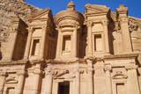 The Monastery or El Deir, Petra, UNESCO World Heritage Site, Jordan. Photographic Print by Nico Tondini