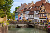 The Petite Venise along the Quai de la Poissonnerie in Colmar, France. Photographic Print by Brian Jannsen