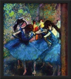 Ballerinas Print by Edgar Degas