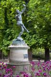 Bronze statue 'Faune Dansant', Jardin du Luxembourg, Paris, France. Photographic Print by Brian Jannsen