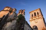 Spain, Andalusia, Cadiz, Arcos De la Fontera. Basilica de Santa Maria. Photographic Print by Julie Eggers