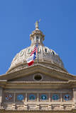USA, Texas, Austin. Capitol Building dome with the Goddess of Liberty. Photographic Print by Randa Bishop