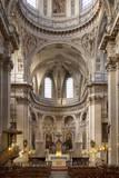 Interior of Eglise Saint Paul in the Marais District, Paris, France. Photographic Print by Brian Jannsen