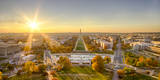USA, Washington DC. Autumn sunset over the National Mall. Photographic Print by Christopher Reed