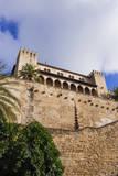 Royal Palace of La Almudaina, Palma, Majorca, Balearic Islands, Spain. Photographic Print by Nico Tondini