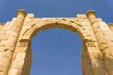 South Gate, Jerash, Jordan. Once the Roman Decapolis city of Gerasa. Photographic Print by Nico Tondini