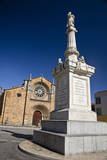 Spain, Avila. St. Peter's Church in the Plaza De Santa Teresa. Photographic Print by Julie Eggers