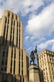 Alfred Building and Monument Maisonneuve, Montreal, Canada. Photographic Print by Jamie & Judy Wild