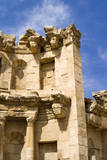 The Nymphaeum, Once the Roman city of Gerasa, Jerash, Jordan. Photographic Print by Nico Tondini