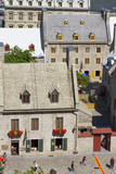 Canada, Quebec, Quebec City, lower old town buildings. Photographic Print by Jamie & Judy Wild
