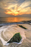 USA, New Jersey, Cape May. Scenic on Cape May Beach. Photographic Print by Jay O'brien
