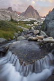 USA, California, Inyo National Forest. Stream nd Mt Ritter. Photographic Print by Don Paulson