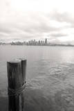 Seattle skyline from Alki, Seattle, Washington State, USA Photographic Print by Savanah Stewart