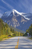 Highway through Mount Robson Provincial Park, British Columbia, Canada Photographic Print by Don Paulson