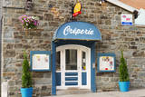 Old Town creperie, Quebec City, Quebec, Canada. Photographic Print by Jamie & Judy Wild