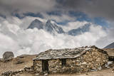 Stone hut, Khumbu Valley, Nepal. Photographic Print by Lee Klopfer