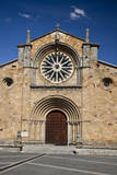 Spain, Avila. St. Peter's Church in the Plaza De Santa Teresa. Photographic Print by Julie Eggers