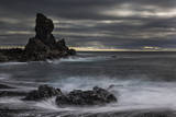 Stormy shoreline scenic, Dritvik, Iceland. Photographic Print by Bill Young
