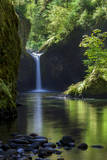 Punchbowl Falls along Eagle Creek Trail, Columbia Gorge, Oregon, USA Photographic Print by Brian Jannsen
