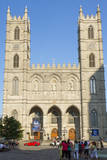 Basilique Notre Dame, Place D'Armes, Montreal, Canada. Photographic Print by Jamie & Judy Wild