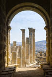 Temple of Zeus, Jerash, Jordan. Once the Roman city of Gerasa. Photographic Print by Nico Tondini
