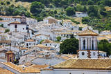 Spain, Andalucia, Cadiz Province, Grazalema. View of the town. Photographic Print by Julie Eggers