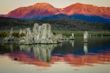 Spectacular Mono Lake in the shadow of the Eastern Sierras. Photographic Print by Jerry Ginsberg