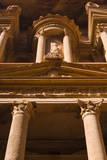 The Treasury, El-Khazneh, Petra, UNESCO Heritage Site, Jordan. Photographic Print by Nico Tondini