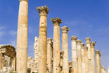 The Cardo, North Colonnaded Street, Jerash, Jordan. Photographic Print by Nico Tondini