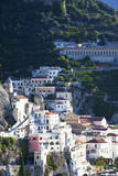 Town of Amalfi and it's colorful roofs. Photographic Print by Terry Eggers