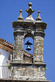 Spain, Andalucia, Cadiz. Bell tower of old church in Grazalema. Photographic Print by Julie Eggers