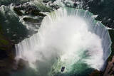 Aerial view of Niagara Falls, Ontario, Canada. Photographic Print by Kymri Wilt