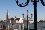 View to San Giorgio Maggiore Island, Venice, Veneto, Italy. Photographic Print by Nico Tondini